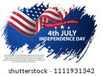 fourth of july independence day....   Shutterstock .eps vector #1111931342
