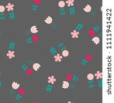 vector illustration seamless...   Shutterstock .eps vector #1111941422