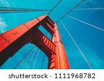 beautiful low angle view of...   Shutterstock . vector #1111968782