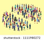 isometric flat 3d isolated... | Shutterstock .eps vector #1111980272