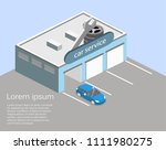 isometric flat 3d isolated... | Shutterstock .eps vector #1111980275