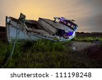 Old Boats Abandoned On The...
