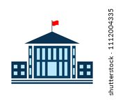 vector school building... | Shutterstock .eps vector #1112004335