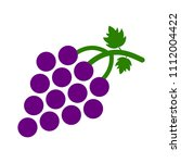 vector grapes   nature... | Shutterstock .eps vector #1112004422