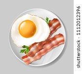 vector 3d realistic english... | Shutterstock .eps vector #1112012396
