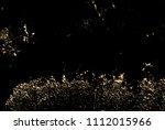 vector grunge gold texture... | Shutterstock .eps vector #1112015966