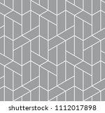 vector seamless pattern. modern ...   Shutterstock .eps vector #1112017898