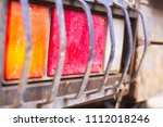 Close Up Of Truck Tail Lights