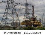 delta platform decommissioning... | Shutterstock . vector #1112026505
