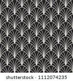abstract art deco seamless... | Shutterstock .eps vector #1112074235