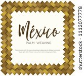 traditional mexican vectorized... | Shutterstock .eps vector #1112077778