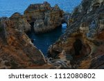 amazing and unique cliffs... | Shutterstock . vector #1112080802