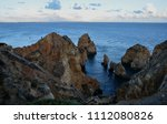 amazing and unique cliffs... | Shutterstock . vector #1112080826