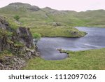 Small photo of Angle Tarn, a mountain Tarn in the Lake District National Park