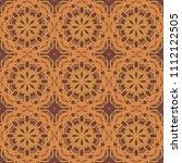 seamless pattern repeat vector... | Shutterstock .eps vector #1112122505