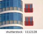colorful modern building | Shutterstock . vector #1112128