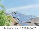 concept of renewable clean vs.... | Shutterstock . vector #1112143652