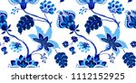 seamless pattern with fantasy... | Shutterstock .eps vector #1112152925