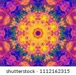 Abstract Kaleidoscope Yellow...