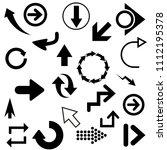 arrows vector collection | Shutterstock .eps vector #1112195378