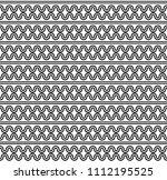 rounded zig zag background... | Shutterstock .eps vector #1112195525