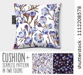 design vector pillow  cushion . ... | Shutterstock .eps vector #1112208578