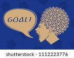 football ball haircut inverted... | Shutterstock .eps vector #1112223776