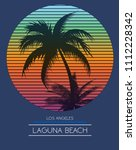 sunset at tropical beach los...   Shutterstock .eps vector #1112228342