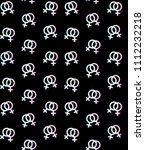 vector seamless pattern of... | Shutterstock .eps vector #1112232218