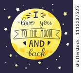 Lettering On A Big Yellow Moon...