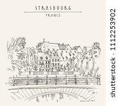 strasbourg  france  europe.... | Shutterstock .eps vector #1112253902