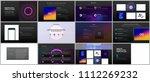 minimal presentations ... | Shutterstock .eps vector #1112269232