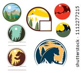 Forest And Wild Life Icon  Wol...