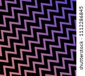 colorful purple zigzag line... | Shutterstock .eps vector #1112286845