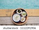 concept promotional morning... | Shutterstock . vector #1112291906