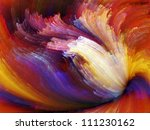 paint swirls series. artistic... | Shutterstock . vector #111230162