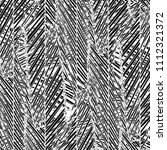 textile pattern in black and... | Shutterstock .eps vector #1112321372