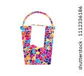 bucket and a rag sign. vector....   Shutterstock .eps vector #1112336186