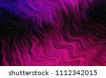 dark pink vector pattern with... | Shutterstock .eps vector #1112342015