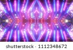abstract pink creative lights... | Shutterstock . vector #1112348672