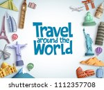 travel and tour vector... | Shutterstock .eps vector #1112357708
