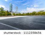 panoramic skyline and buildings ... | Shutterstock . vector #1112358656
