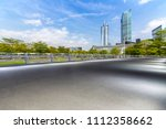 panoramic skyline and buildings ... | Shutterstock . vector #1112358662