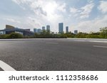 panoramic skyline and buildings ... | Shutterstock . vector #1112358686