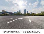 panoramic skyline and buildings ... | Shutterstock . vector #1112358692