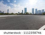 panoramic skyline and buildings ... | Shutterstock . vector #1112358746