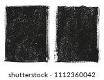 vector grunge frame.grunge... | Shutterstock .eps vector #1112360042