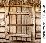 Abandoned Barn Vintage Wooden...