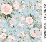 watercolor seamless pattern of... | Shutterstock . vector #1112402555