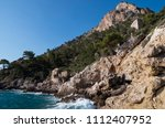 ruins of the ancient lycian... | Shutterstock . vector #1112407952